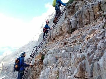 Experience (price per person): Via Ferrata Vidi