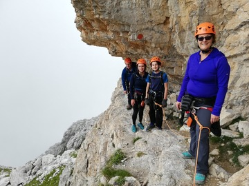 Experience (price per person): Via ferrata S.O.S.A.T.