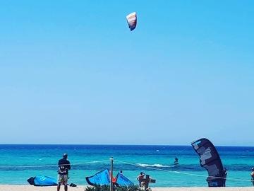 Experience (price per person): Kitesurfing Laguna di Marsala