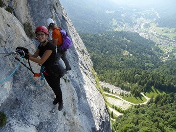 Experience (price per person): Dolomites Via Ferrata Experience