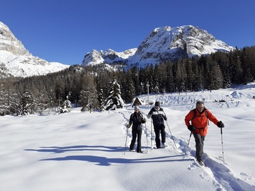 Experience (price per person): Dolomites Snowshoeing Experience