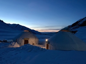 Avventura (prezzo per persona): Kyrgyzstan - Jyrgalan high Valley in the yurt