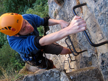 Experience (price per person): Via Ferrata in Ronda