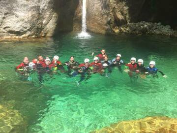 Entdeckung (preis pro person): Canyoning on the Serra torrent (Apuan Alps)