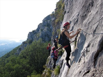 Experience (price per person): Trieste Via Ferrata Experience