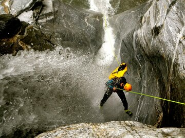 Experience (price per person): Dolomites Canyoning Experience