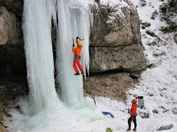 Experience (price per person): Dolomites Ice Climbing Experience