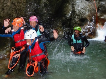 Adventure (price per person): Family Canyon Ledro Valley Garda Lake