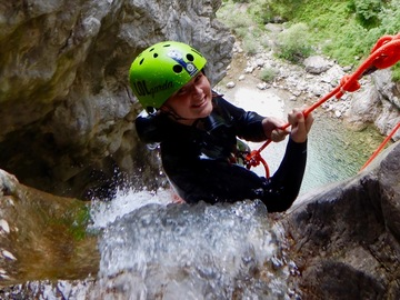 Adventure (price per person): Canyoning Palvico Ledro Valley