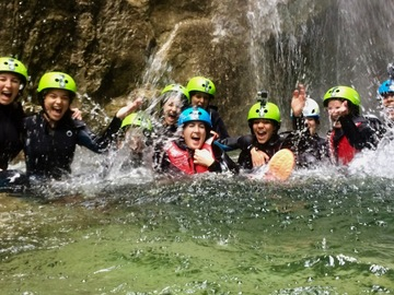 Adventure (price per person): Bachelor/ette Canyoning Party on Lake Garda