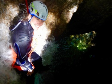 Adventure (price per person): Canyoning full power (Rio Nero + Palvico)