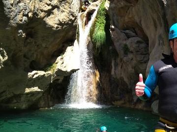 Experience (price per person): Canyoning Rio Verde, Granada.