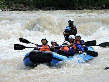 Experience (price per person): Rafting in Val di Fiemme, Avisio river
