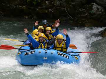 Experience (price per person): Rafting Noce river