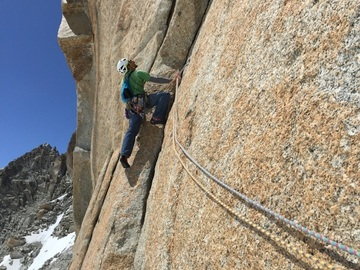 Experience (price per person): Mont Blanc - Rock Climbing