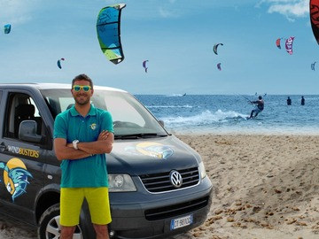 Experience (price per person): Kitesurfing course Cefalù Salinelle beach