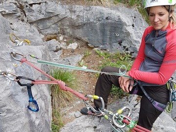 Adventure (price per person): Sport climbing Glacier Canyon Grindelwald
