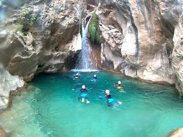 Experience (price per person): Canyoning in Granada - Rio Verde