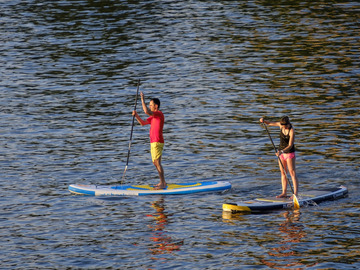 Experience (price per person): Stand Up Paddle Bärwalder See