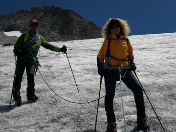 Experience (price per person): Ascent of the Marmolada 3344 m