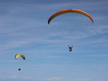 "Experience (price per person): ""Like a Virgin"" paragliding flight in Cecima (PV)"