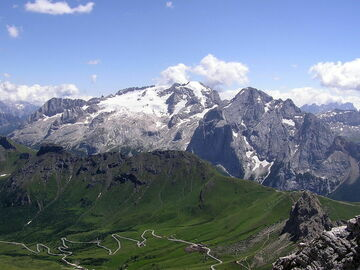 Experience (price per person): Marmolada 3343m