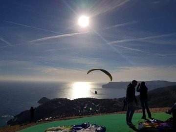 "Experience (price per person): ""Like a Virgin"" paragliding flight in Bergeggi (SV)"