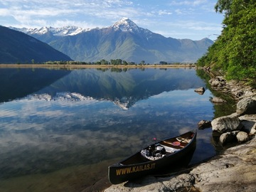 Experience (price per person): Canoeing in the heart of the Alps