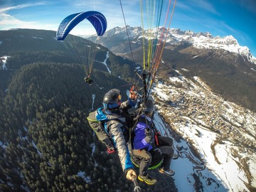 Experience (price per person): Tandem Paragliding flight