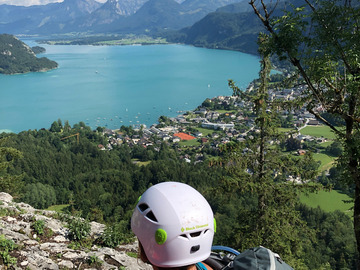 Experience (price per person): Firsttimer Multipitchclimbing day with amazing Lake-view!