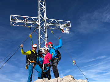Experience (price per person): Dachstein 2.995m highest peak of Styria and UNESCO World Heritage