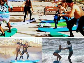 Entdeckung (preis pro person): Gruppen-Surfing-Kurs