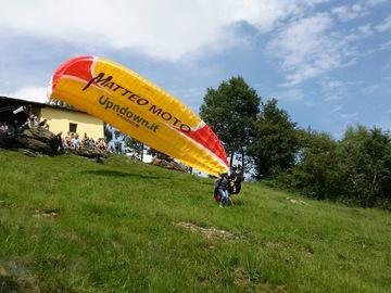Experience (price per person): We make dreams come true... paragliding in Rocca Canavese