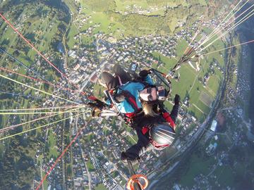 Adventure (price per person): Paragliding in the Montafon