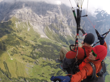 Esperienza (prezzo a persona): Paragliding Day in the Jungfrau Region