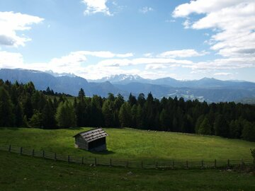 Experience (price per person): On top of the Corno del Renon with a great view of the Dolomites