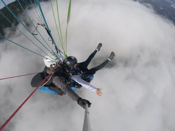 Experience (price per person): Paragliding tandem flight Kronplatz