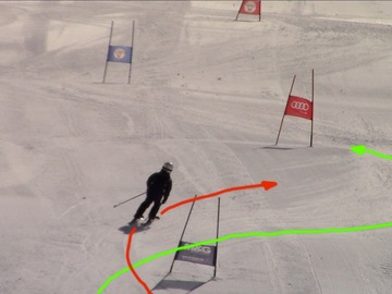 Entdeckung (preis pro person): ½ day GS training in gates