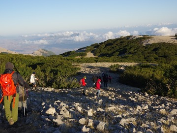 Experience (price per group): Ascent to the Carbonara Massif