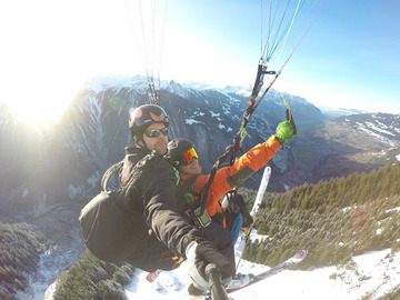 Experience (price per person): Thermic flight Hochjoch-Schruns