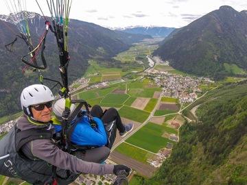 Experience (price per person): Paragliding tandem flight Ahornach Ahrntal