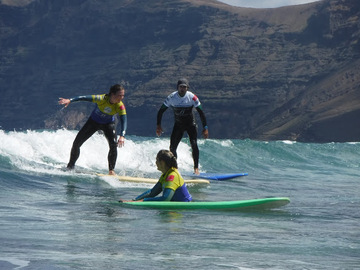 Entdeckung (preis pro person): Surf Lessons for group or private
