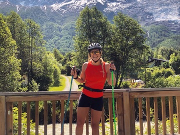 Experience (price per person): Rollerskiing in Chamonix valley