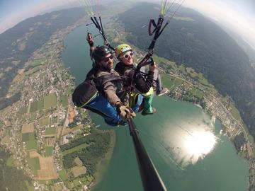 Adventure (price per person): Paraglider tandem flight
