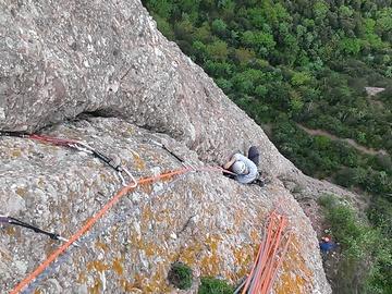 Aventure (prix par personne): 3 days climb in Montserrat