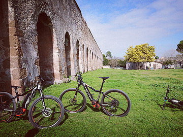 Experience (price per person): E-biking on the Appian Way