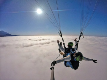 Experience (price per person): Gold Paragliding Flight