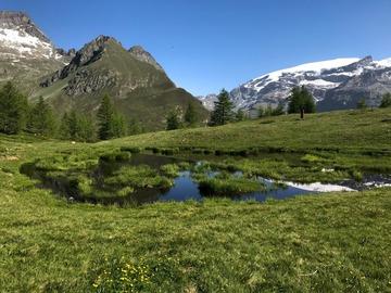 Experience (price per person): Lago Lochien: una balconata sul Monte Rosa
