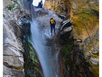 Experience (price per person): Canyoning in Greece - Rodokalos Gorge