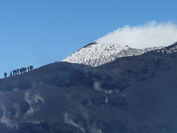 Experience (price per person): Etna summit craters 3330 m